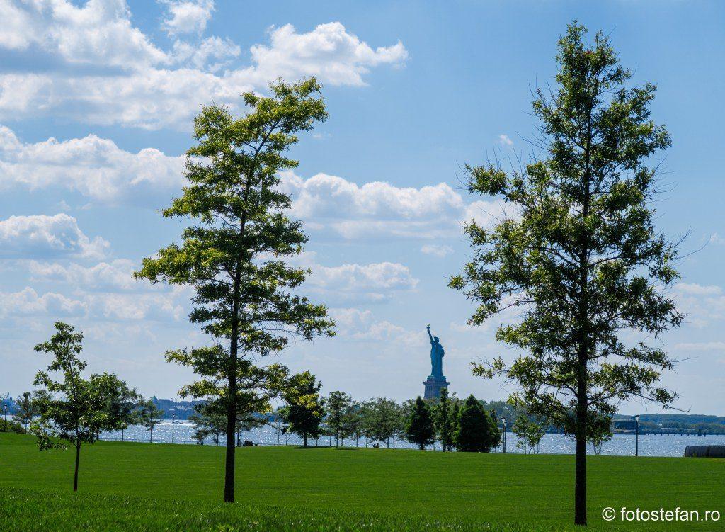 statuia libertatii vedere Governors Island poze calatorie