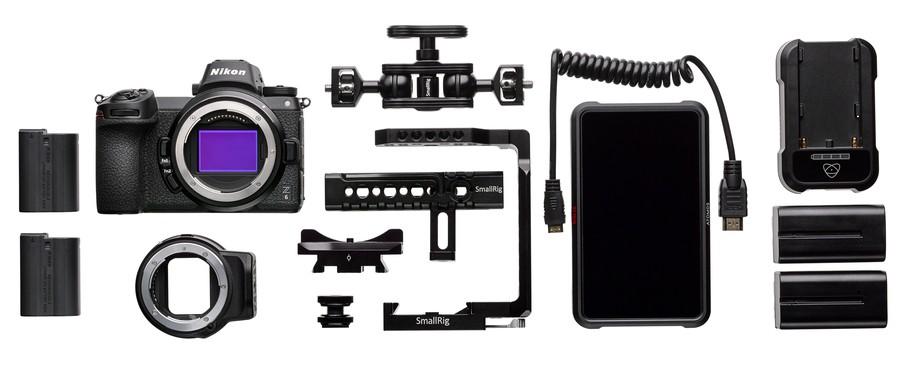 Kitul de filmat Nikon Z6 poza aparat foto mirrorless