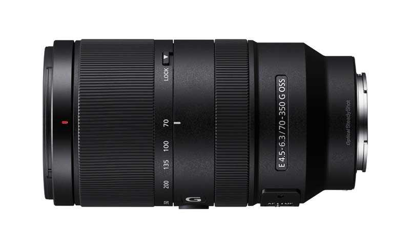 poza obiectiv zoom sony E 70-350mm F4.5-6.3 G OSS SEL70350G