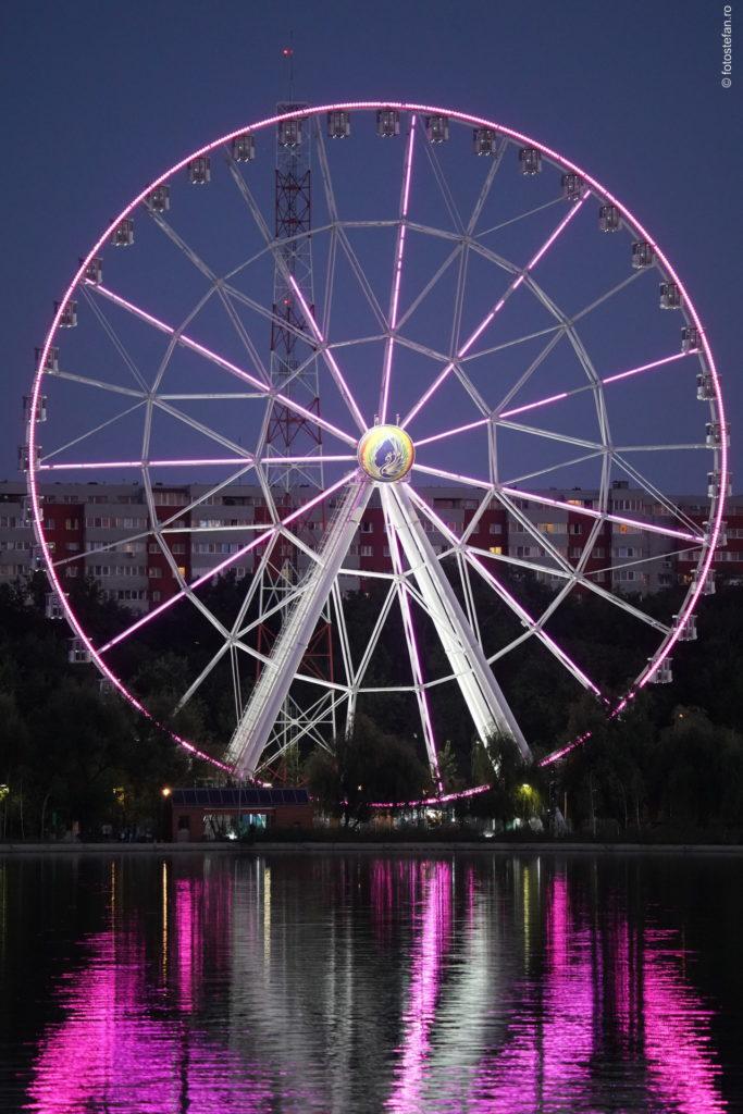 poza seara roata mare parc tei bucuresti
