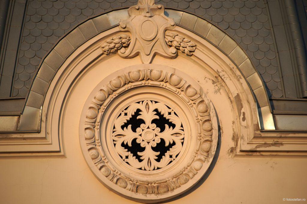 detaliu cladire spital coltea bucuresti arhitectura
