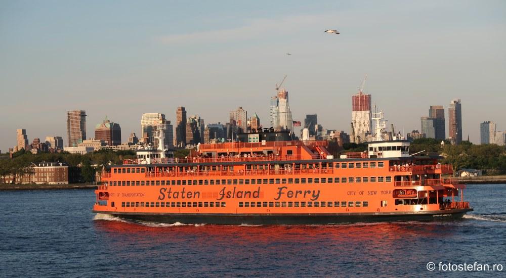 fotografie turistica america new york staten island ferry