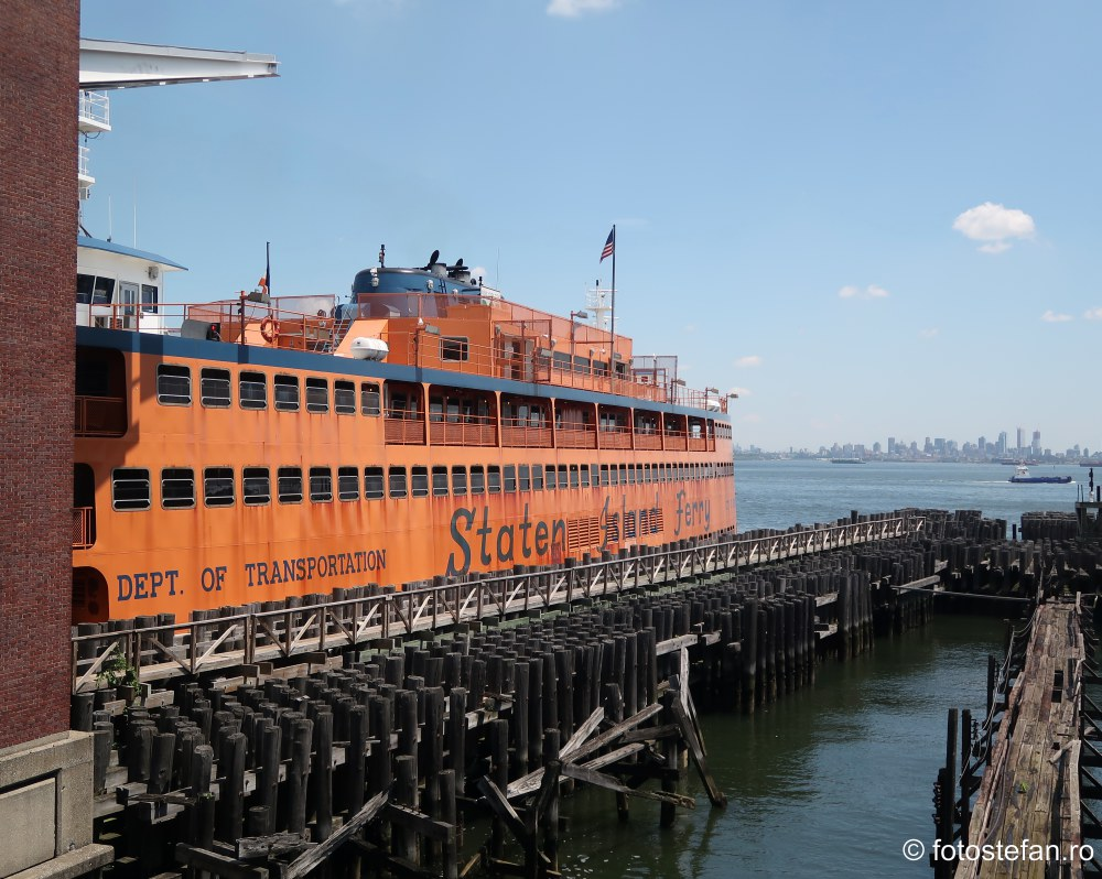 fotografii bac vapor feribot insula Staten america