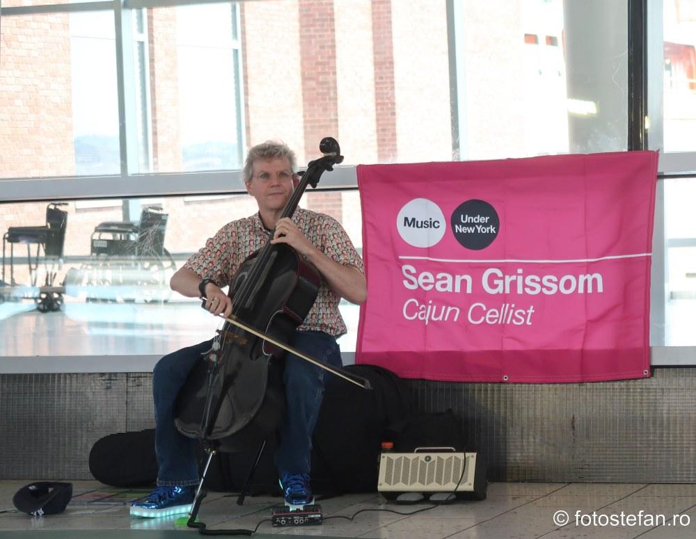 sean grissom cajun cellist staten island terminal usa