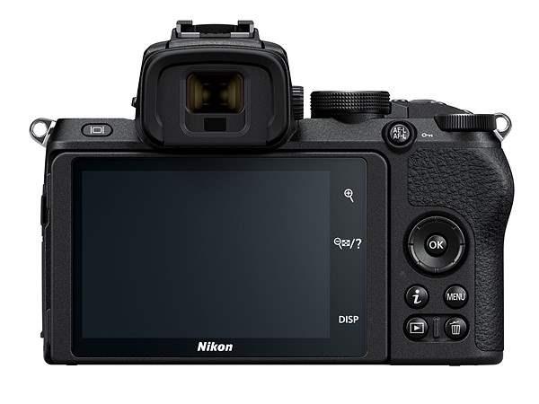 poza aparat foto mirrorless Nikon Z50