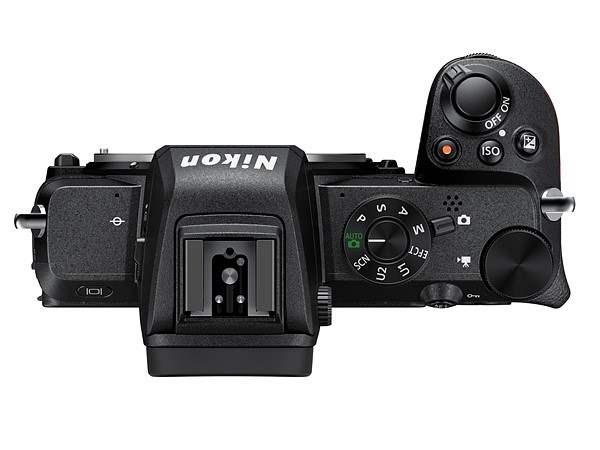 poza butoane aparat foto mirrorless Nikon Z50