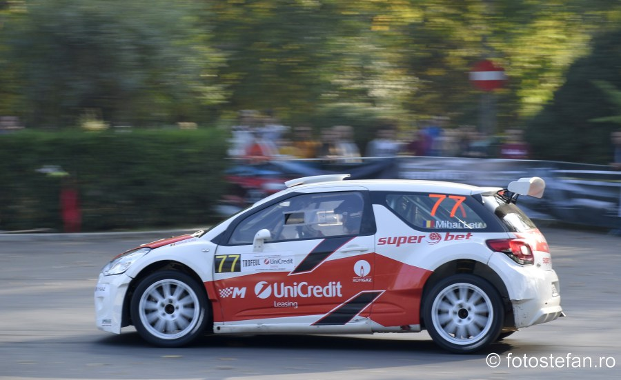 poza Mihai Leu Citroen C3 R5 fotografii super rally bucuresti