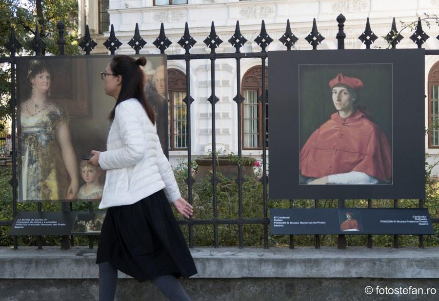 poza turist bucuresti palatul sutu expozitie fotografie tablouri