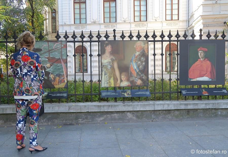 expozitie foto Muzeul Prado iese in strada Bucuresti gard palat sutu