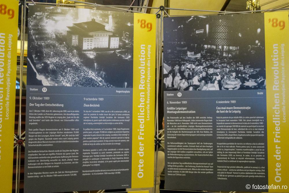 poze Locurile Revolutiei Pasnice Leipzig Muzeul Bucurestiului