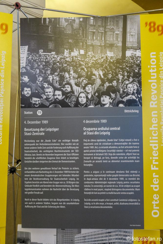 fotografie revolutie demonstratii oras germania palatul sutu bucuresti