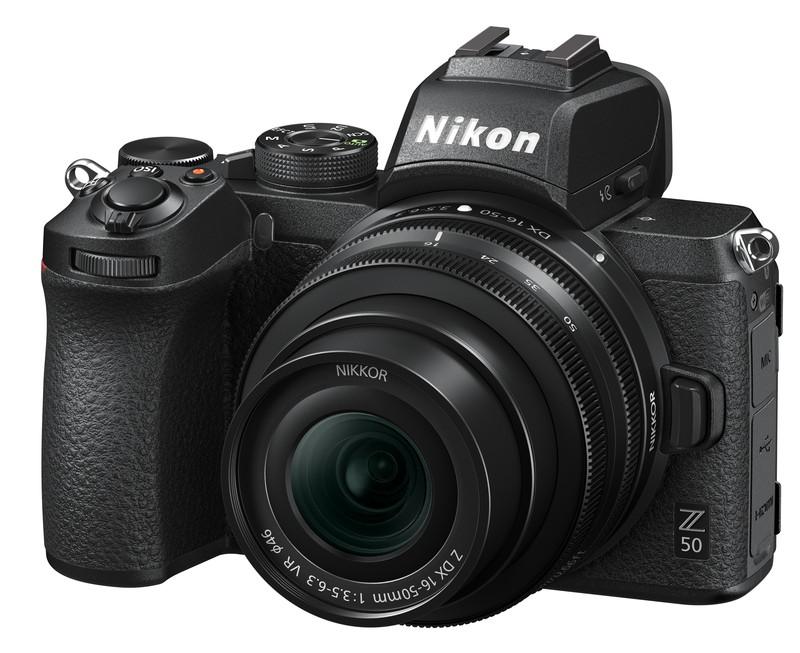 Nikon Z 50 aparat foto mirrorless senzor mic