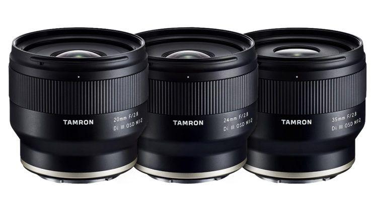 obiective Tamron pentru Sony montura e mirrorless full-frame