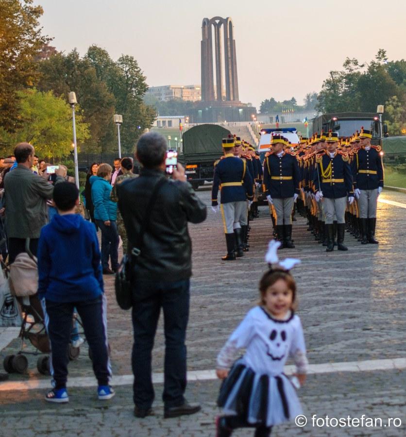 Ziua Armatei Române poze parcul carol fotografii