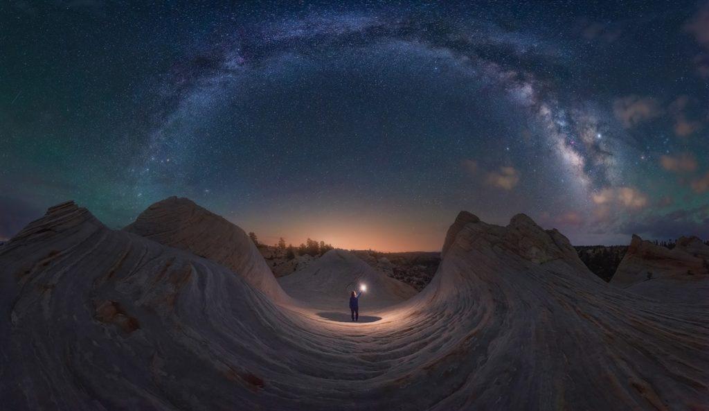 poza cer munte utah america stele