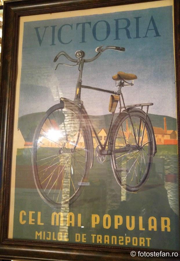 poza afis bicicleta romaneasca victoria made in ro