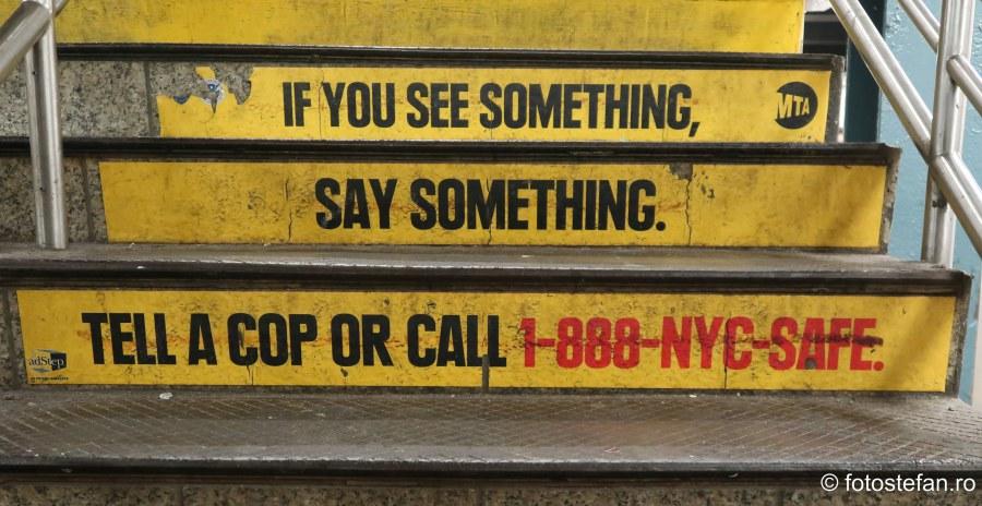 poza mesaj politia metrou new york