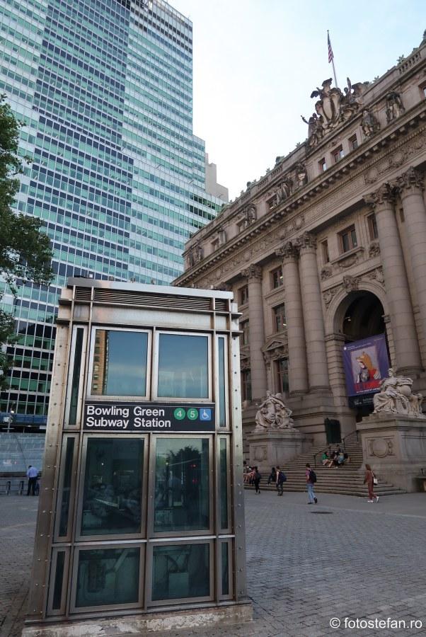 poza lift statie metroul din new york america