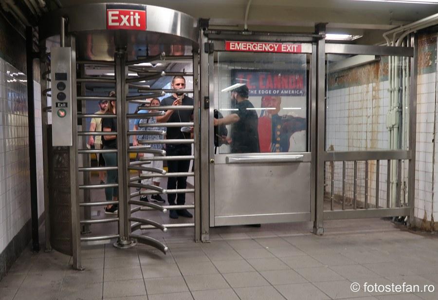 fotografii poarta metroul din new york calatorie america