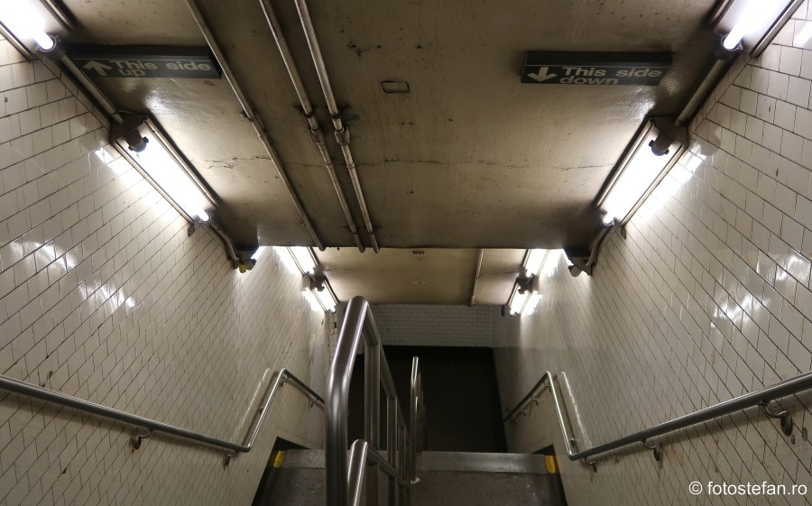 poze calatorie new york metrou tunel pasaj