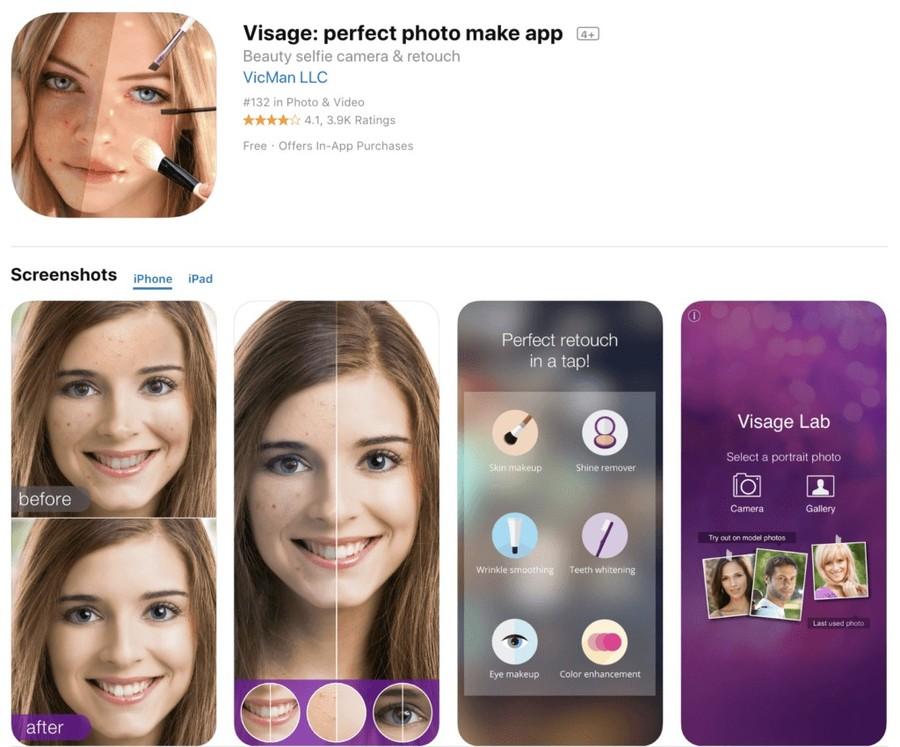 editare foto gratuit prelucrare poze selfie