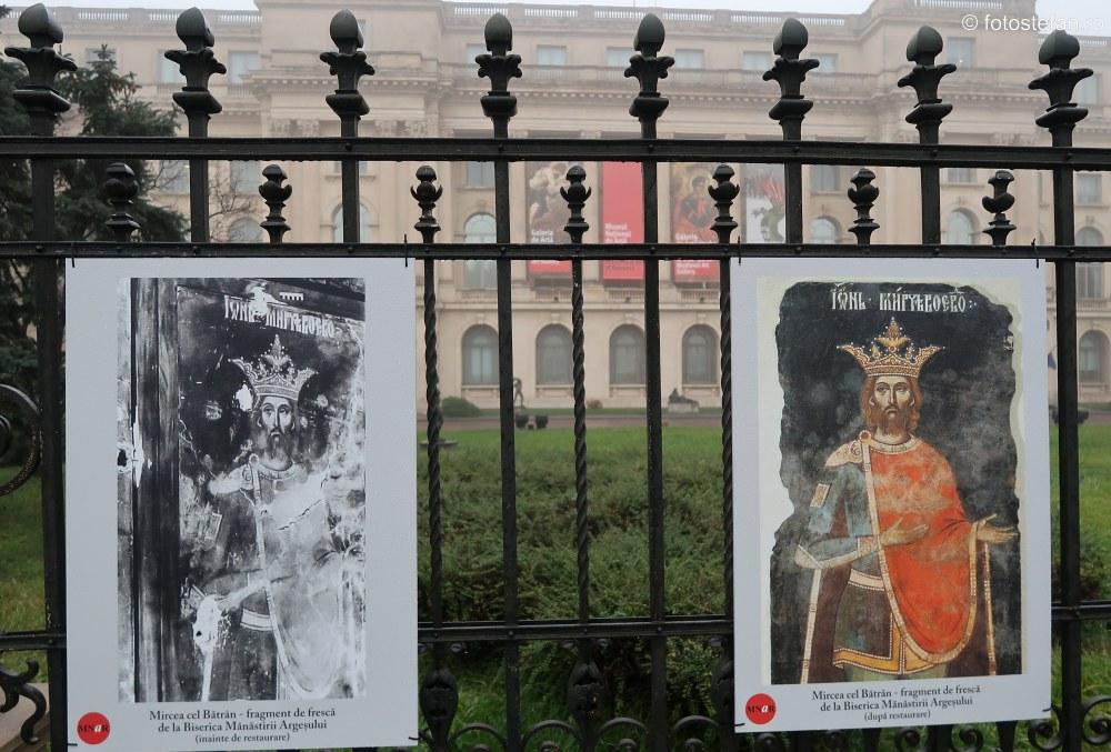 arta restaurata mnar evenimentele din decembrie 1989