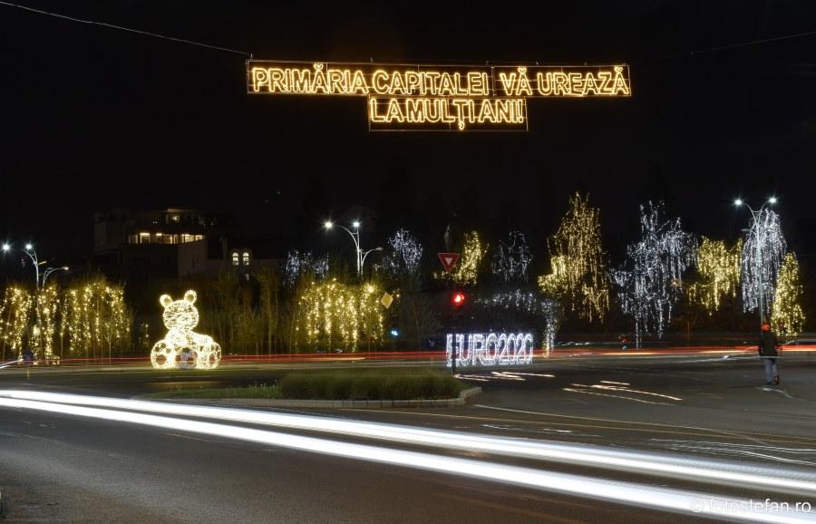 Luminite de Craciun Bucuresti poze 2019 fotografii