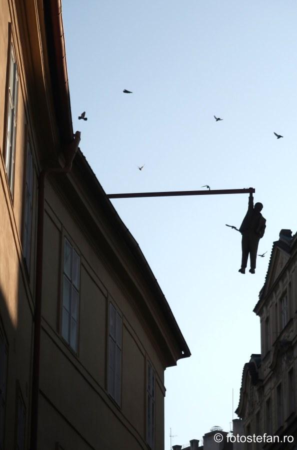 Sigmund Freud statuie praga cehia fotografii