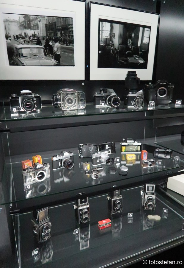poze muzeul tehnicii praga aparate foto vechi
