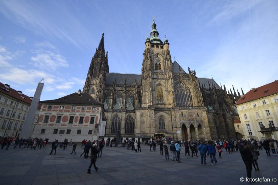 poza catedrala Sfantul Vitus Praga Cehia