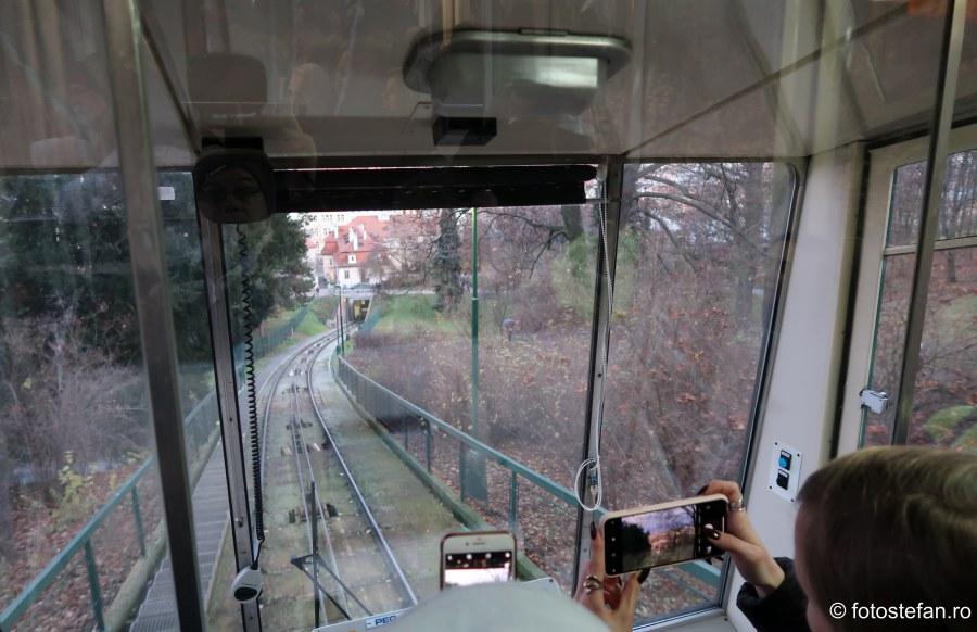 poze funicular praga city break atractie turistica