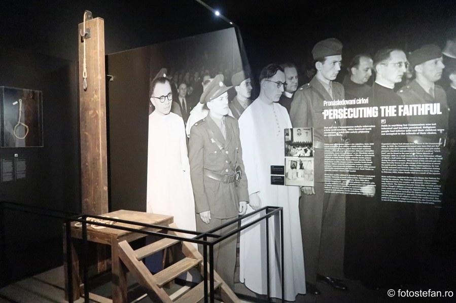 poza securitatea cehoslovaca spanzuratoare executie