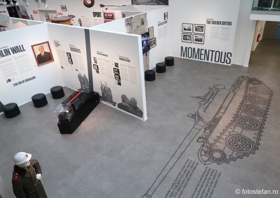 fotografii muzeul comunismului praga city break cehia