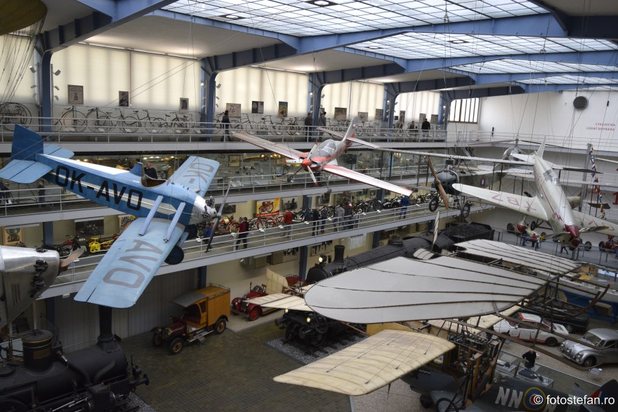 poze Muzeul Tehnic National Praga obiective turistice