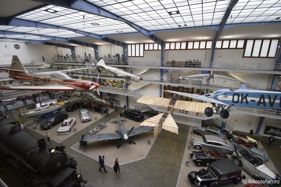 exponate avioane masini Muzeul Tehnic National Praga city break