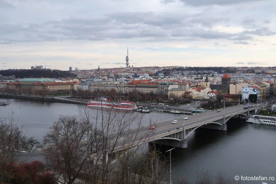 poze Praga vazuta de sus parcul Letna citybreak