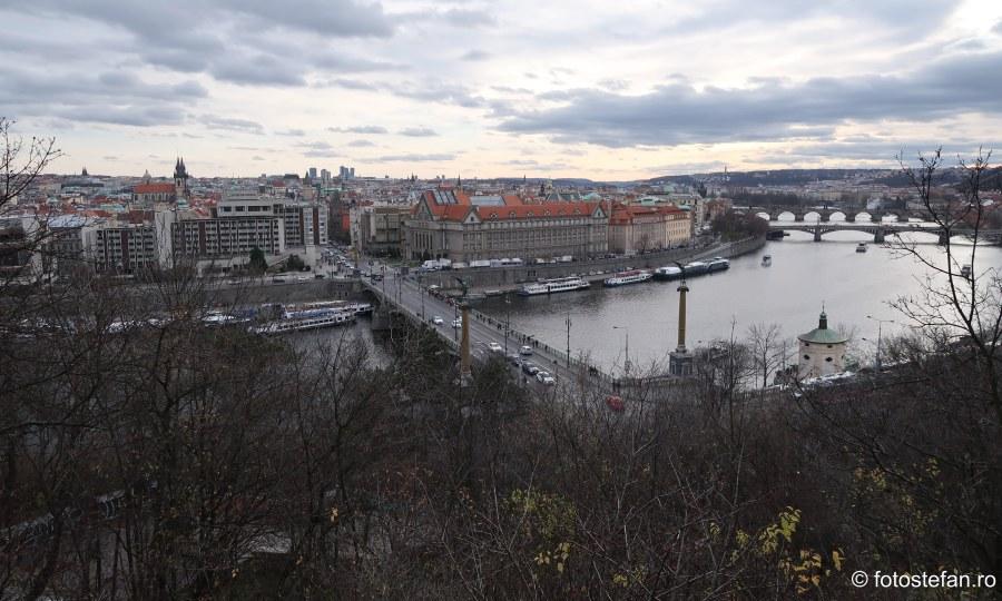 Praga vazuta de sus decembrie