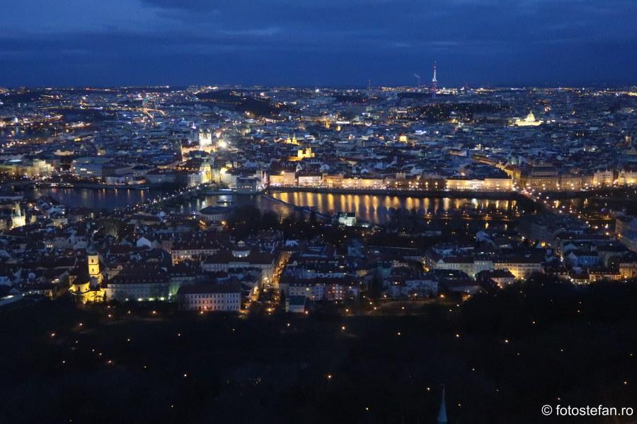 fotografii praga seara priveliste panorama perspectiva