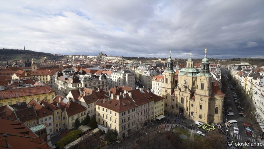 fotografii Praga vazuta de sus obiective turistice