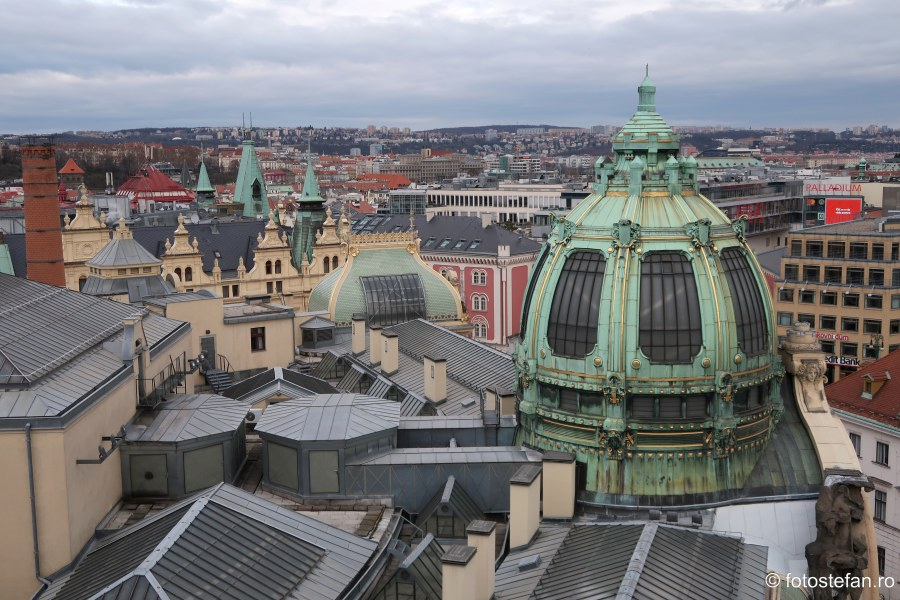 acoperis fotografie arhitectura praga cehia