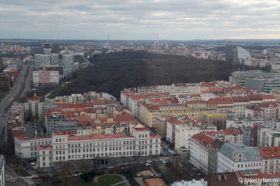 poze calatorie decembrie Praga vazuta de sus