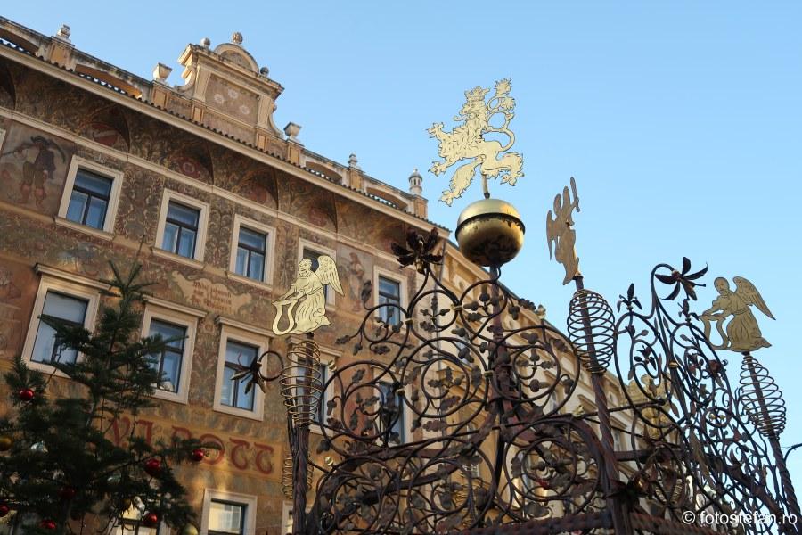 Praga city break fotografii decembrie