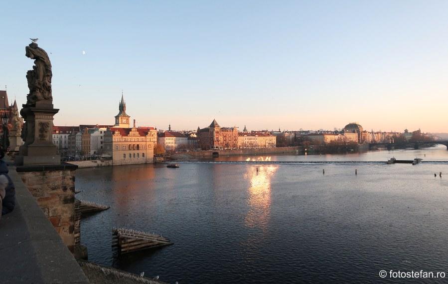 fotografii de pe podul Carlov Karluv most Praga
