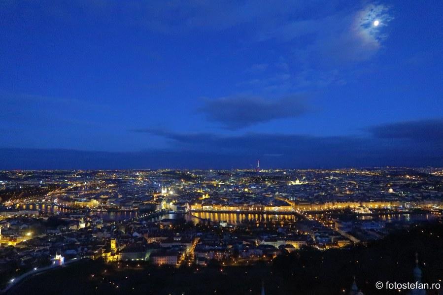 poze praga seara vedere panoramica