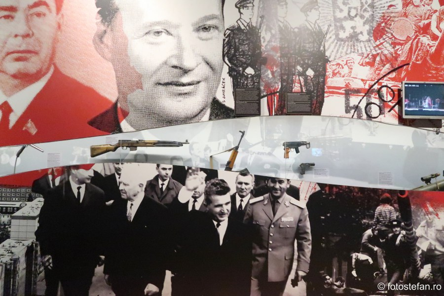 poza nicolae ceausescu muzeul comunismului praga city break