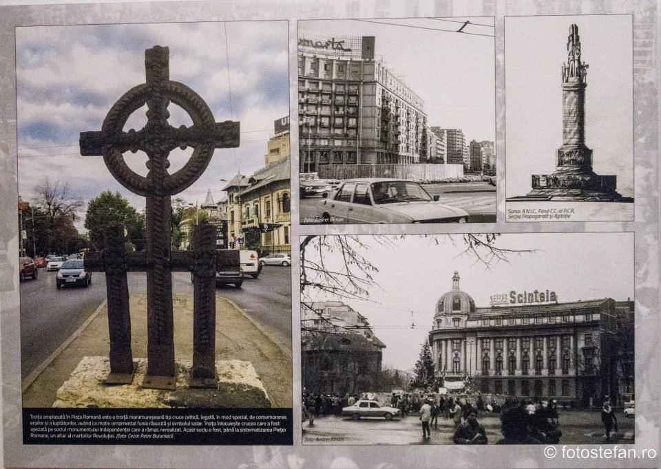 poza troita piata romana bucuresti decembrie 1989 evenimente
