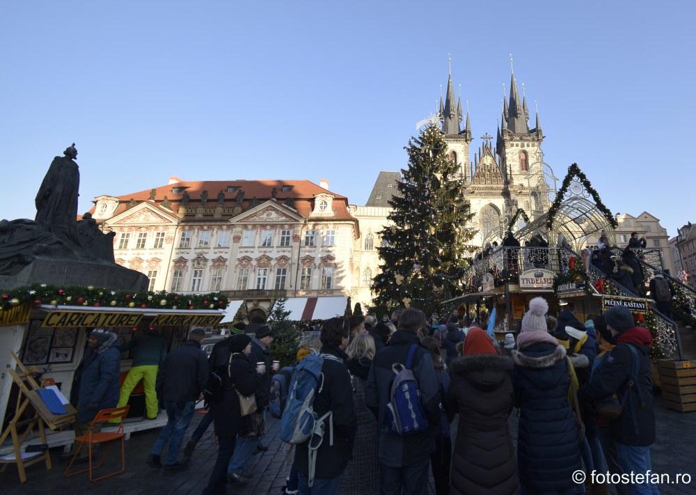 fotografii impresii calatorie targul de Craciun Praga 2019 cehia