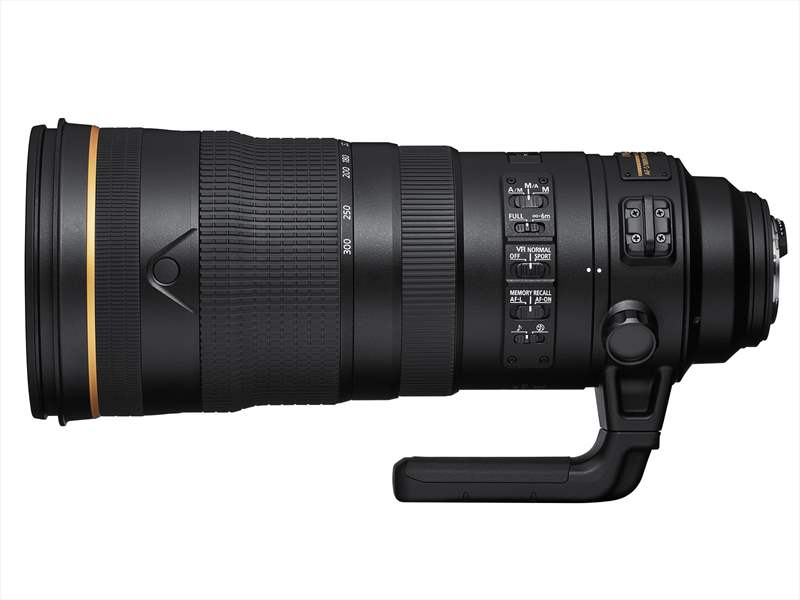 Nikon 120-300mm F/2.8 E FL ED SR VR zoom profesional