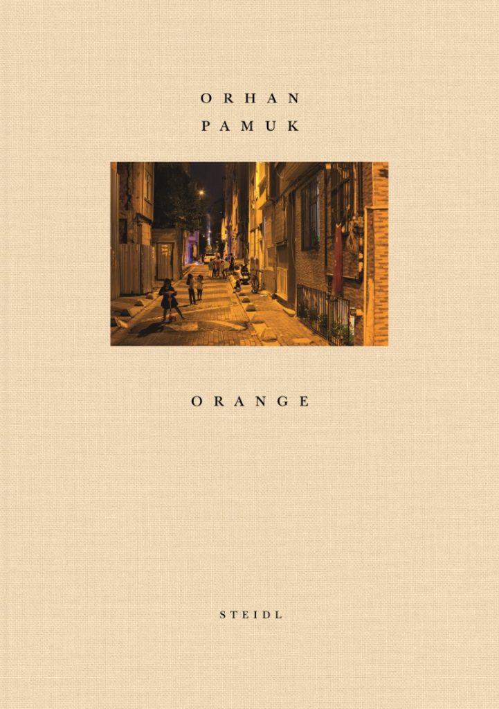 carte orange Orhan Pamuk editura germna publicitst Gerhard Steidl