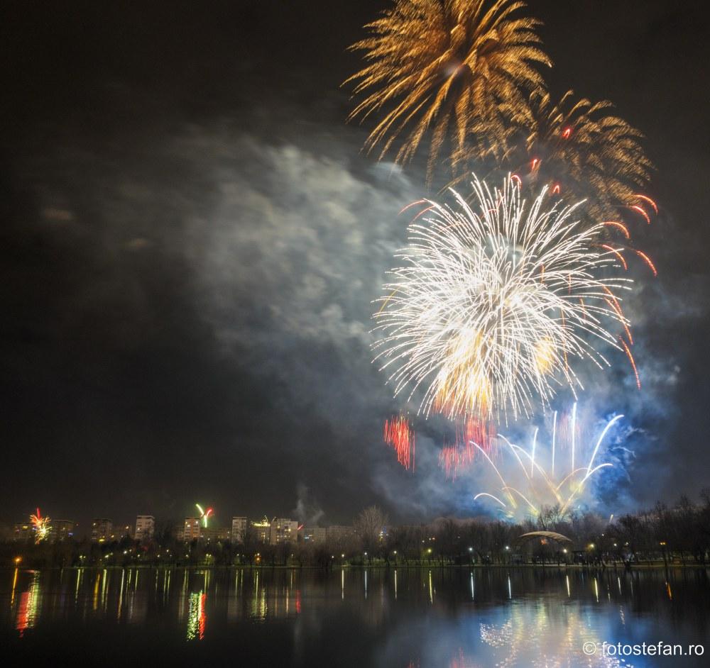 poze focuri artificii revelion O noapte la superlativ parcul titan bucuresti